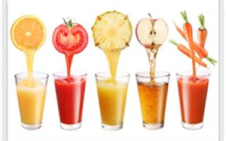 Как очистить организм?  Очищение организма от шлаков натуральными соками