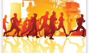 Я здоров, потому что бегаю!