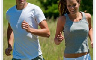 Утренний бег помогает обрести хорошее здоровье и стройность тела!
