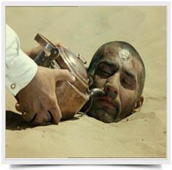 Lechenie gorjachim peskom